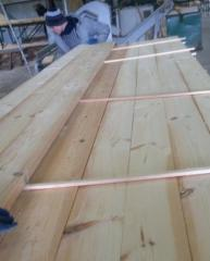 Pine Lumber Edge Board