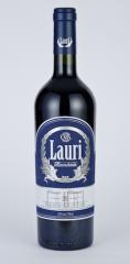Vin rosu cupaj din soiurile: Merlot,Cabernet Sauvignon si Feteasca Neagra Cuvee Aliman 0.75l Lauri