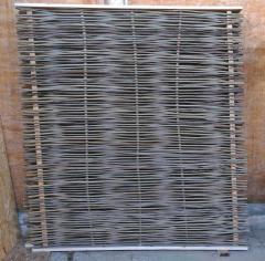 Gard impletit de nuiele