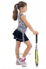 Set Tenis Fusta cu maieu Zebra