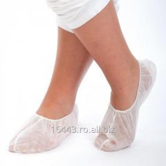 Ciorapi (botosei) de unica folosinta dim material netesut