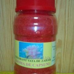 Colorant pentru Vata de zahar cu aroma de Capsuni