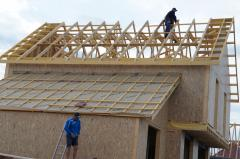 Wood framing and trusses Mitek technology