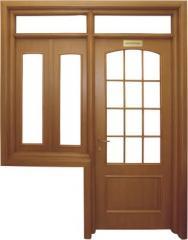 Ansamblu usa si fereastra cu luminator pentru