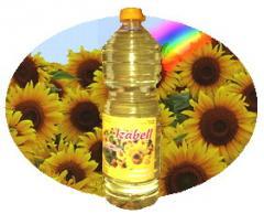 Ulei brut din floarea soarelui obtinut prin presarea la rece
