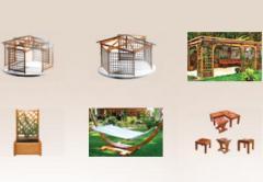 Constructii si mobilier de gradina