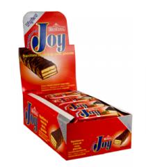 JOY napolitane glazurate cu crema de Cacao 20 g