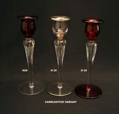 Sfeșnic din sticlă
