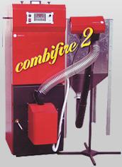 Cazan pe peleți tip Combifire 2