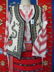 Costum traditional dama