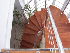 Materials for stairs and interiors