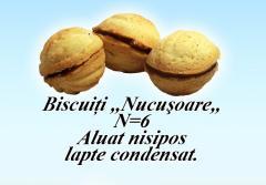 Biscuiti nucusoare