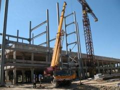 Hoisting crane second hand