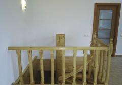 Balustradă lemn pentru scară