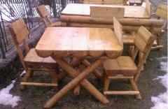 Banci lemn de gradina