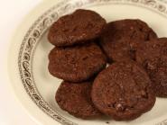 Biscuiti bio cu dubla ciocolata