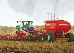 Máquinas y equipamiento de sembrado y plantación