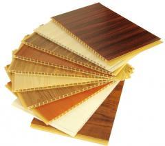 Lambriu PVC interior lemn