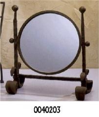 Oglinda fier rotunda
