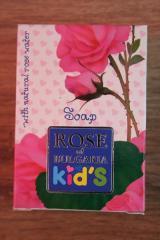 Sapun pentru copii cu apa de trandafiri Rose