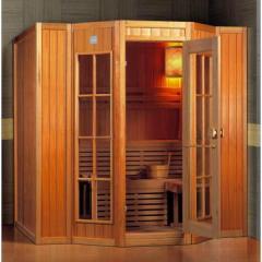 Sauna traditionala finlandeza