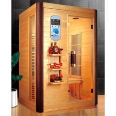 Cabina de sauna cu infrarosii pentru 2 persoane
