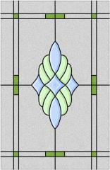 Pictures for stained-glass panel