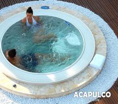 Swimming pools round