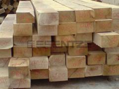 Traverse din lemn pentru cai ferate