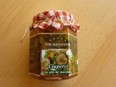 Ciuperci in ulei de masline