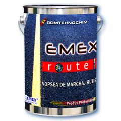 Paint for a marking of roads of EMEX a route