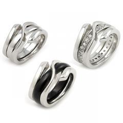 Inel din argint 4 in 1