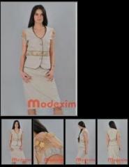 Costum de dama, fusta si sacou, cod:2012.023