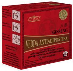 Ceai antiadipos cu ginseng vedda