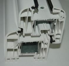 Ferestre din PVC cu geam termopan - Rehau Brillant