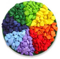 Pietre decorative colorate