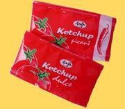 Ketchup plic  (ketchup sachet)