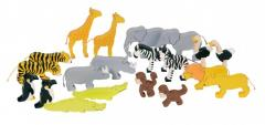Set animale din lemn