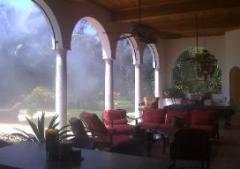 Climatizare exterior pentru terase, gradini,