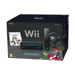 Consola de jocuri pentru copii - Nintendo Wii Black