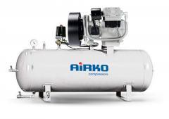 Compresoare industriale mobile cu piston