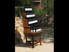 Подставки под бутылки деревянные
