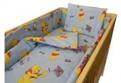 Lenjerie pentru patut copii - Winnie the Pooh