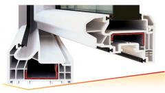 Profil de fereastra Pvc cu 5 camere de izolatie termica