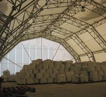 Hangars from light metalware