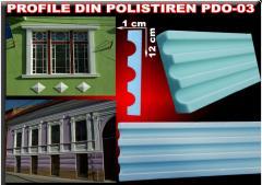 Moulures en polystyrène