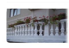 Balustrada din beton