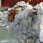 Waterfalls decorative