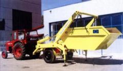 Trailers chip trucks