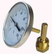 Termometre cu bimetal carcasa otel